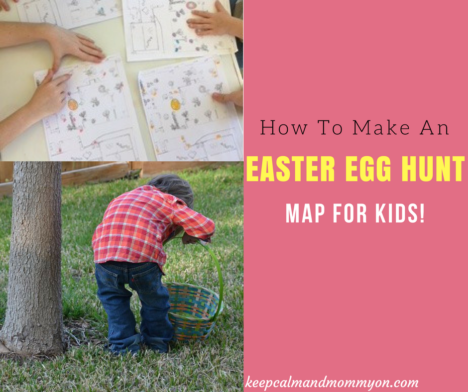 How To Make Your Own Easter Egg Hunt Map!