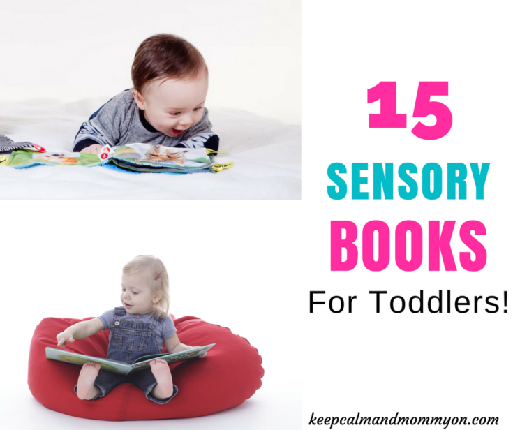 15 Sensory Books For Toddlers!