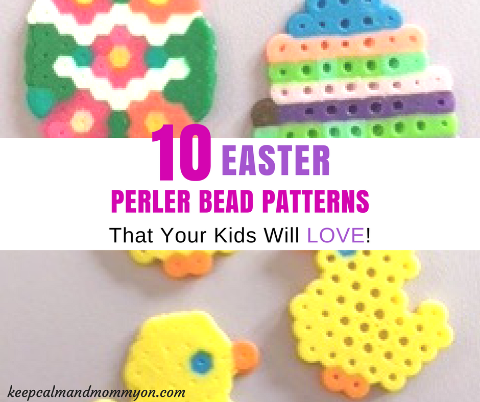 10 Easter Perler Bead Patterns and Ideas!