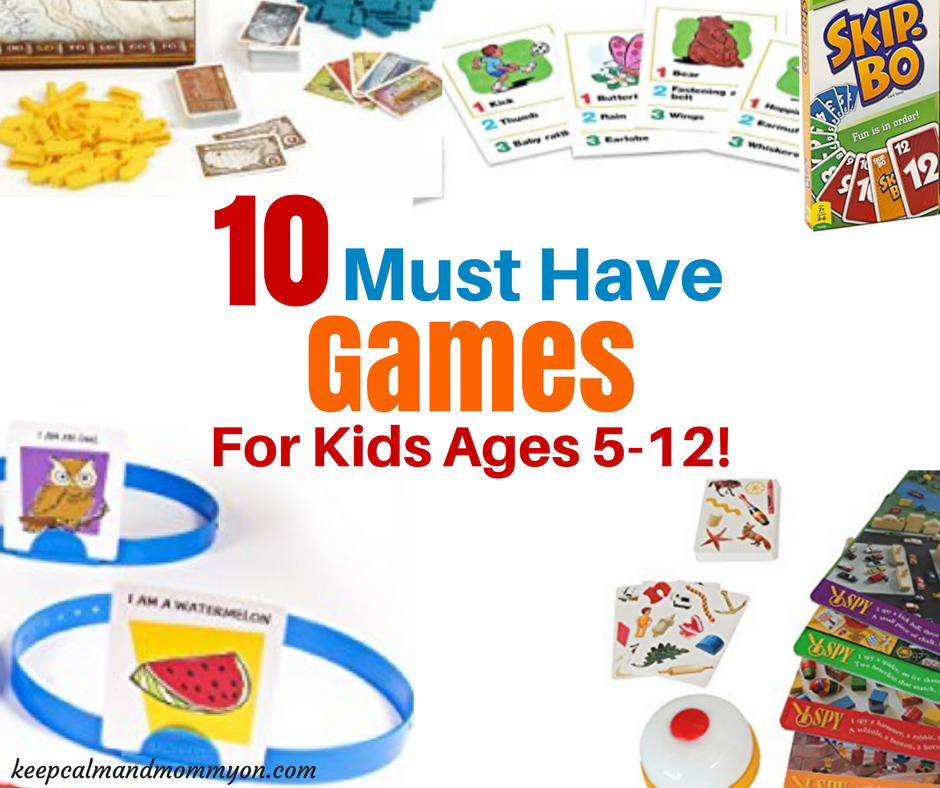 Best Board Games For Kids!