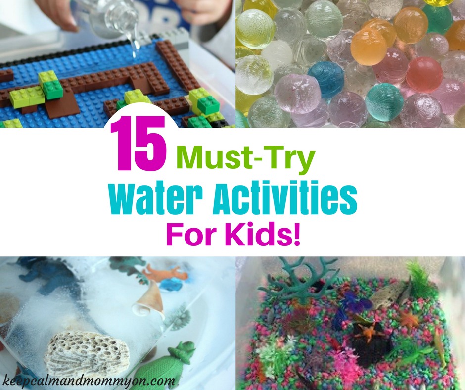 Water Play – 15 Water Activities For Kids!