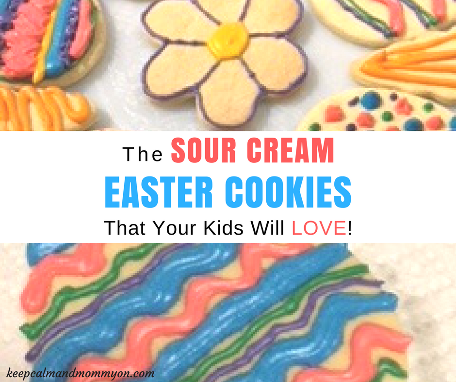 Sour Cream Easter Cookies!