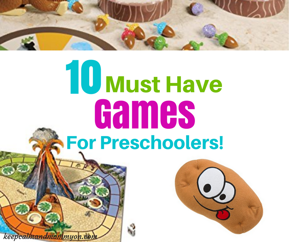 Best Games For Toddlers and Preschoolers!