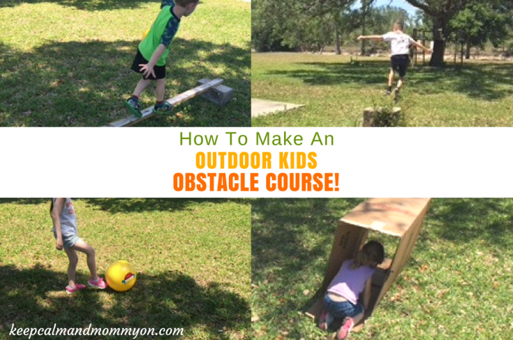 Make Your Own Kids Obstacle Course!
