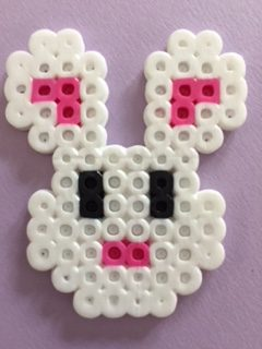 Bunny Perler Bead Pattern