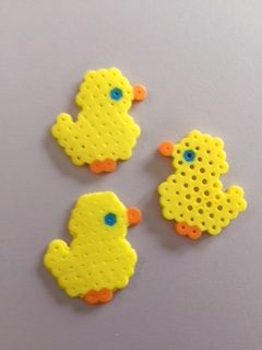 chick perler bead pattern