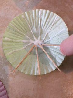 How to make paper umbrellas