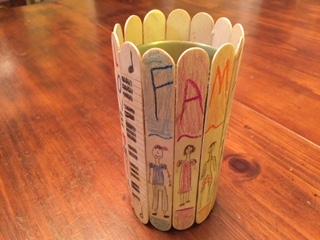DIY Pencil Holder Craft For Kids