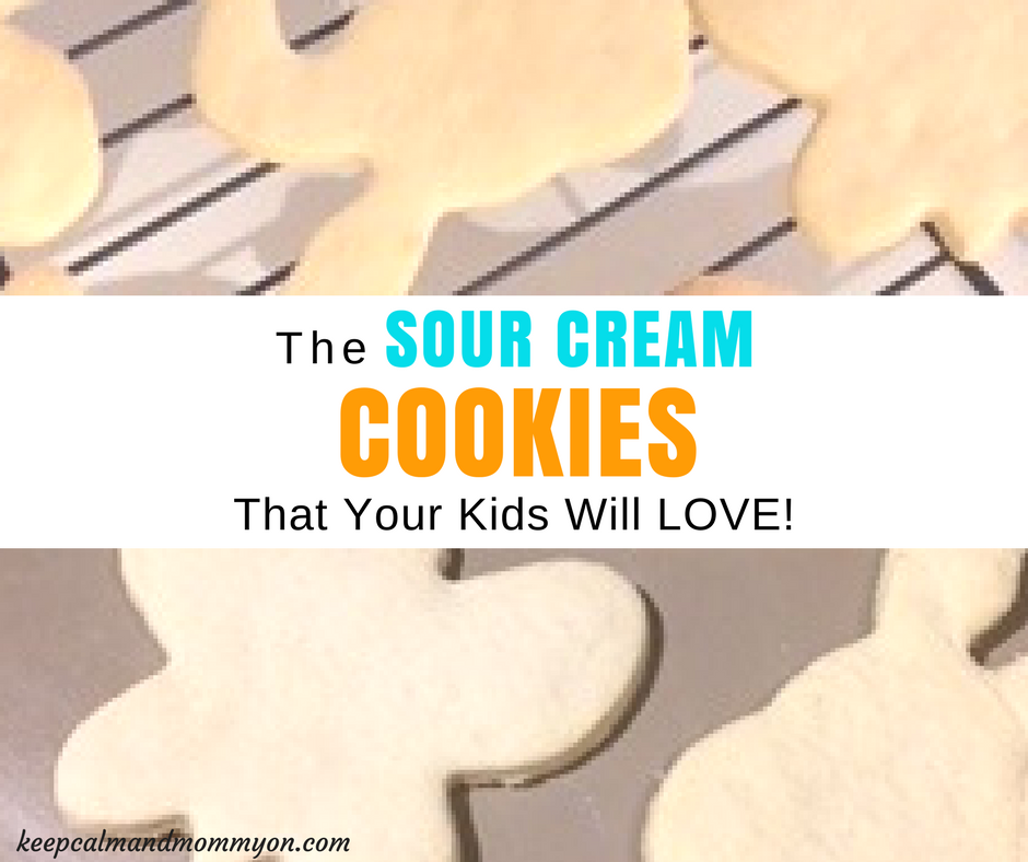 Sour Cream Cookies!