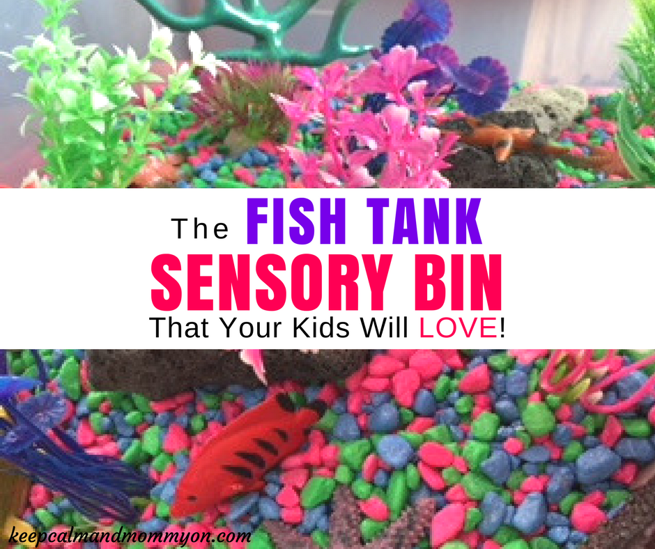 The Ultimate Fish Tank Sensory Bin!