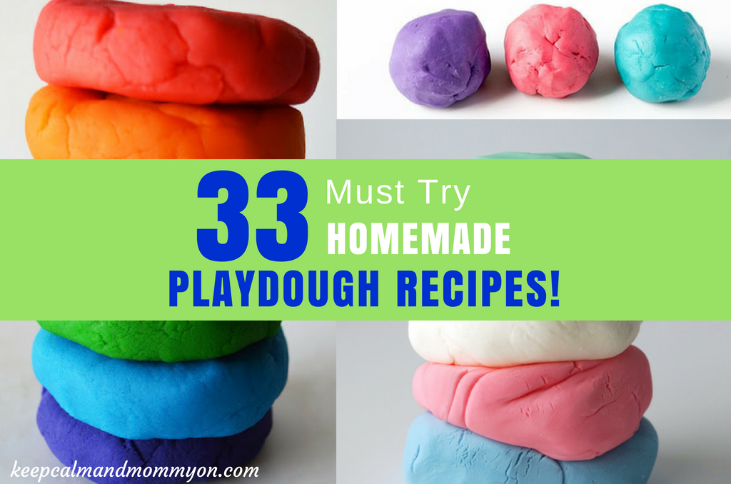 The Ultimate Playdough Recipe List!