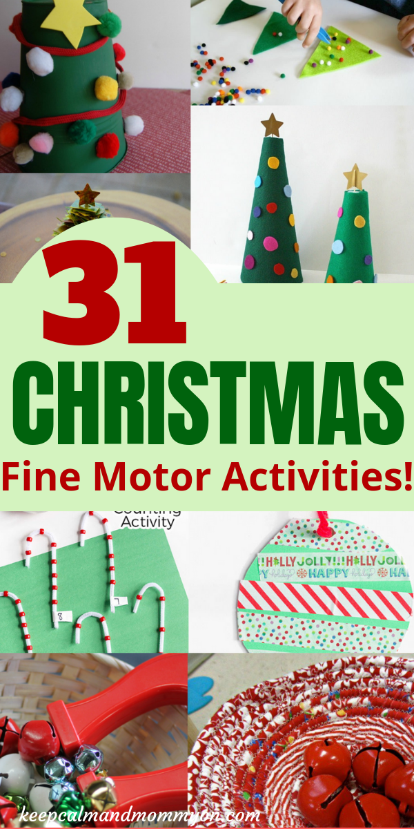 31 christmas fine motor activities keep calm and mommy on. Black Bedroom Furniture Sets. Home Design Ideas