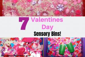 Valentines Day Sensory Bins