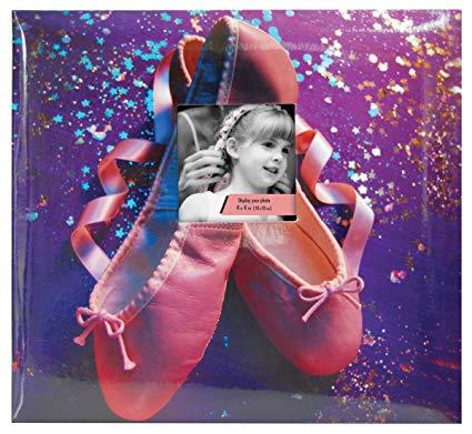 MBI 12x12 Inch Sport and Hobby Postbound Album, Dance/Ballet (865451)