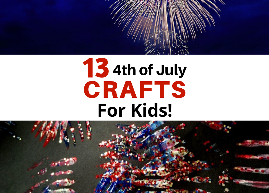 13 4th of July Crafts For Kids