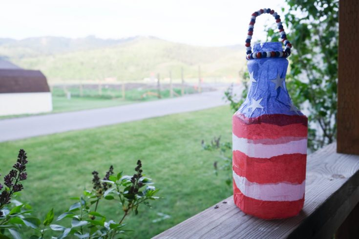 Fun DIY 4th of July Patriotic Lantern Craft and Decor for Kids (Or Adults!) – The Crazy Outdoor Mama