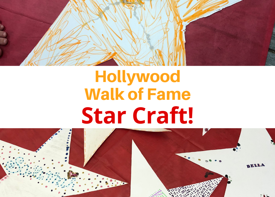 Hollywood Walk of Fame Star Craft