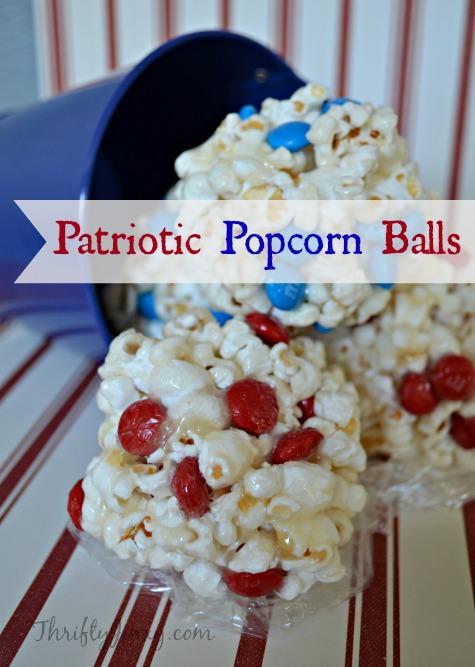 Patriotic Popcorn Balls Recipe