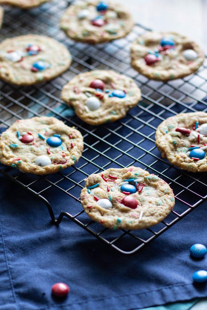 Firecracker Pudding Cookies