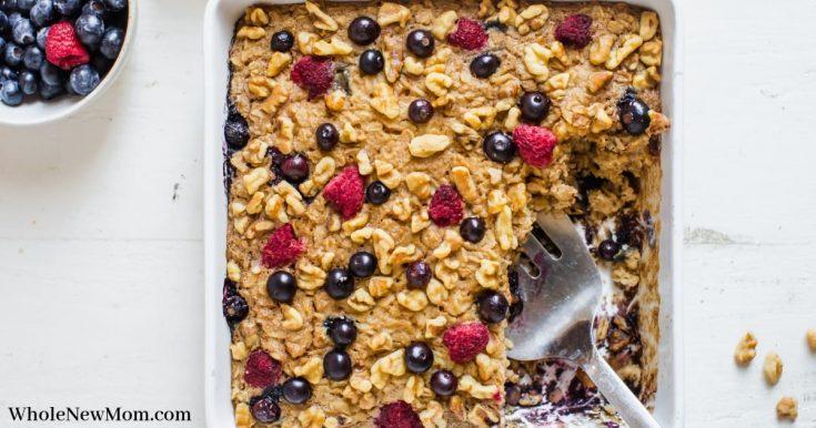 Gluten-free Oatmeal Cake--{great healthy breakfast!}