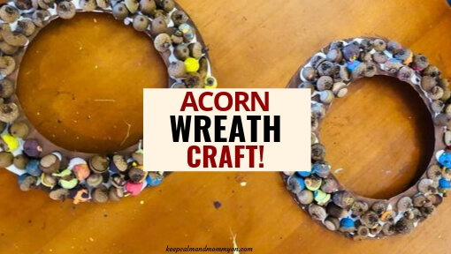 Acorn Wreath Craft