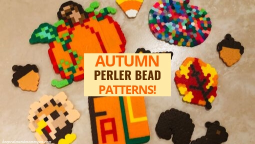 9 Autumn Perler Bead Patterns!