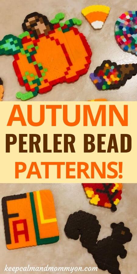 Autumn Perler Bead Patterns