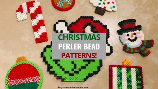 7 Christmas Perler Beads!