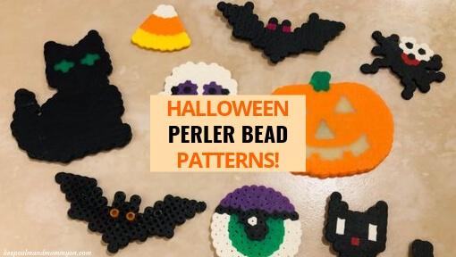 9 Halloween Perler Beads!