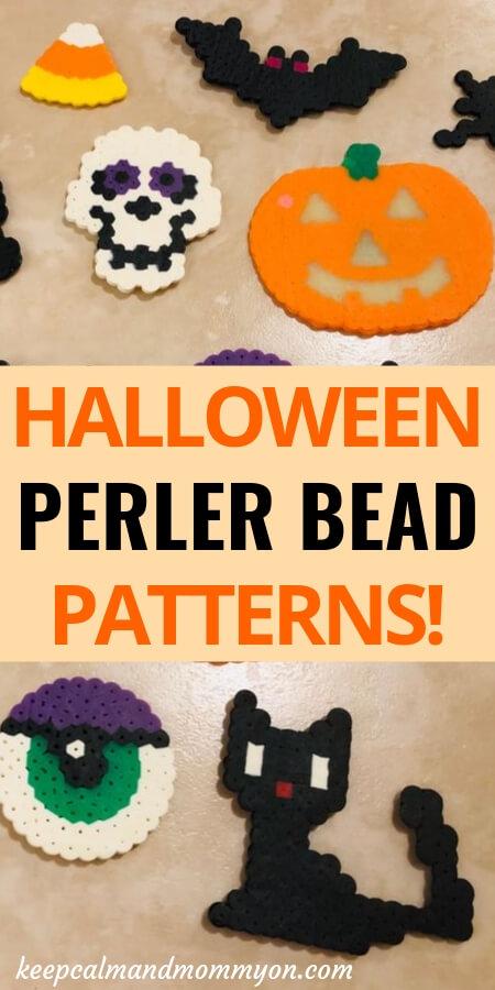 Halloween Perler Beads