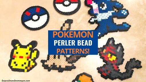 7 Pokemon Perler Beads!