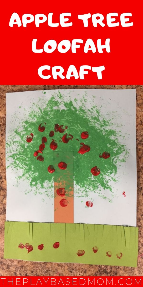 Adorable Apple Tree Craft for Toddlers