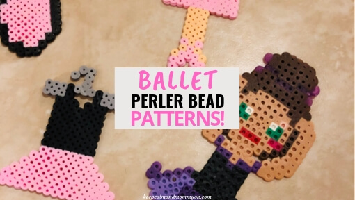 Ballet Perler Bead Ideas!
