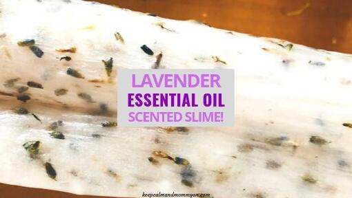 Lavender Scented Slime!