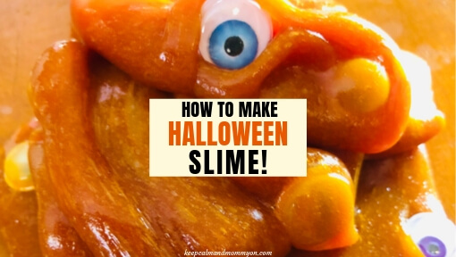 How to Make Halloween Slime!