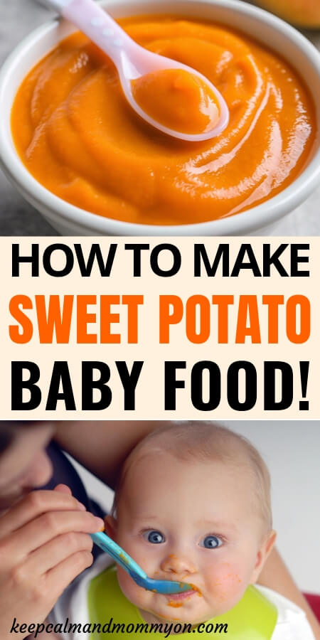 Sweet Potato Baby Food