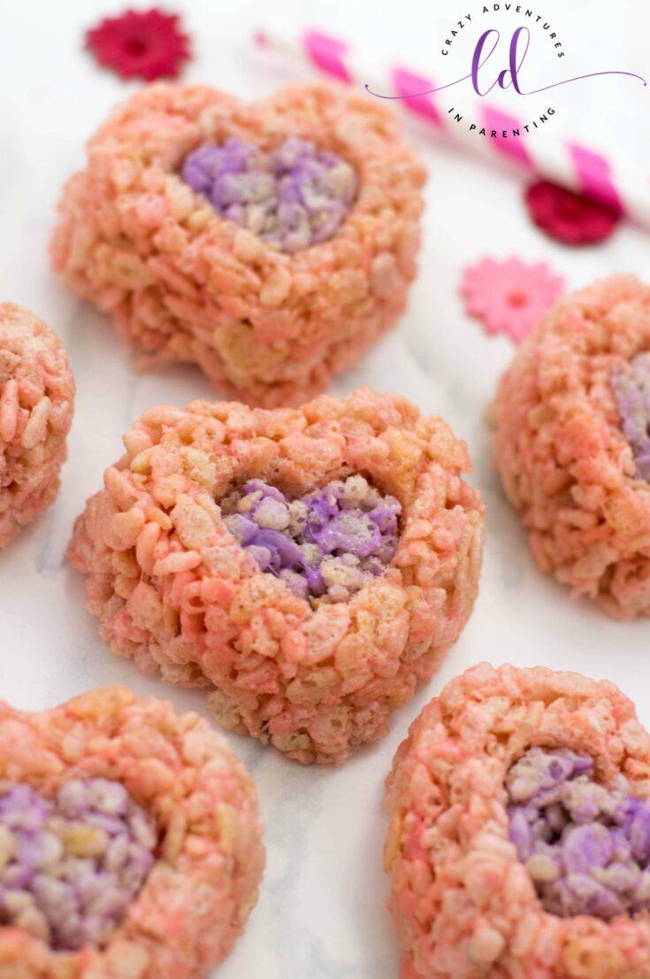 Valentine's Rice Krispies Treats