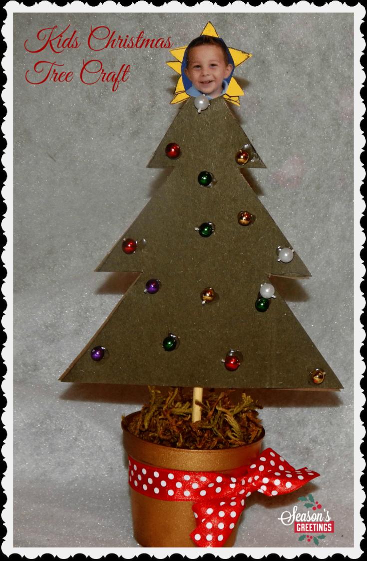 Kids Christmas Tree Craft