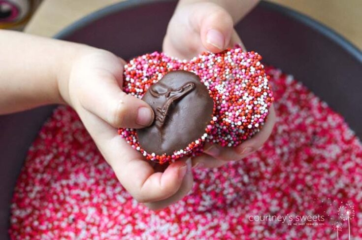 Homemade Chocolate Nonpareils