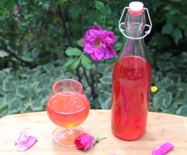 How to Make Rose Cordial