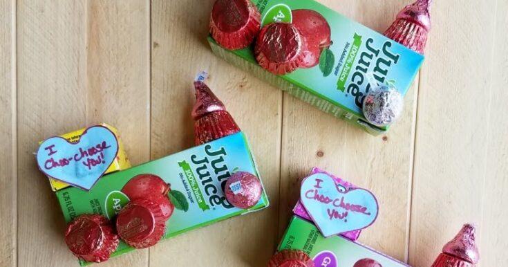 I Choo-Choose You Train Valentines