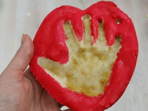 Easy toddler salt dough Christmas craft