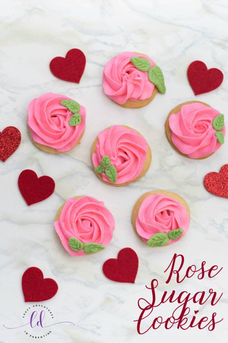 Rose Sugar Cookies Recipe
