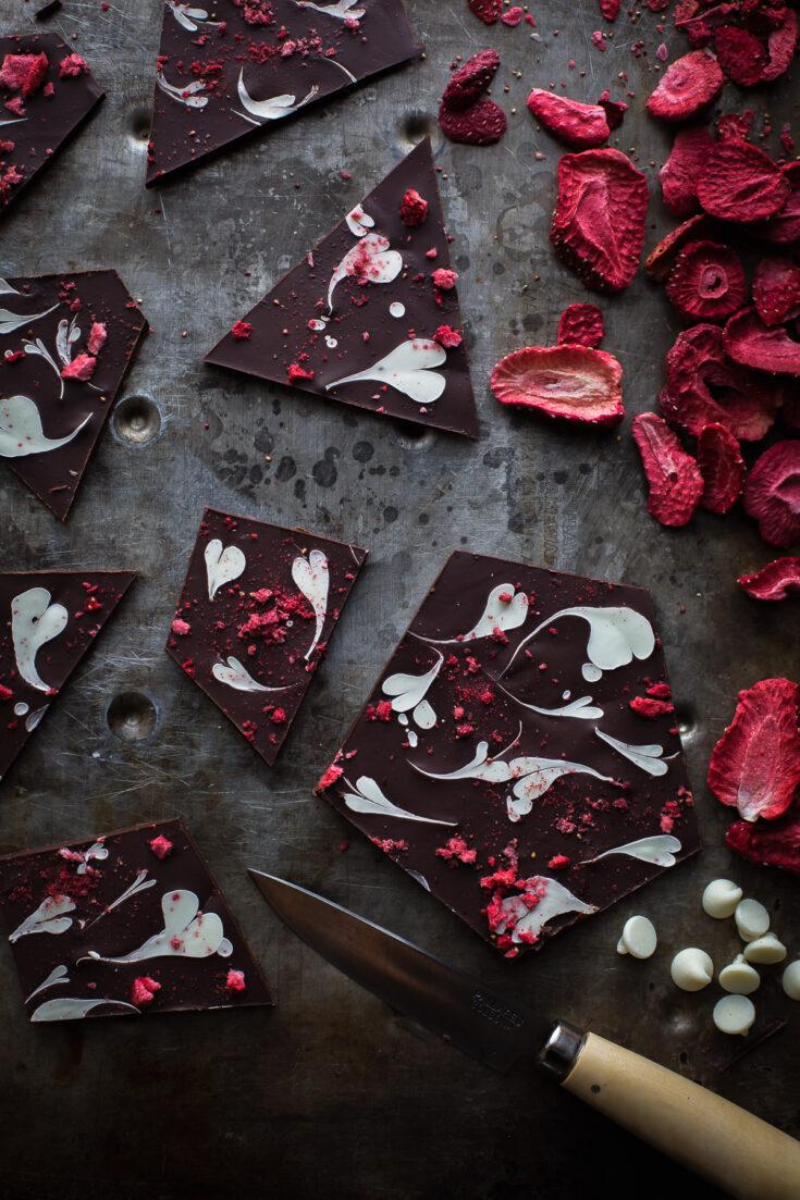 Sweetheart Chocolate Bark