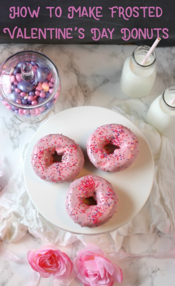 How to Make Frosted Valentine's Day Donuts