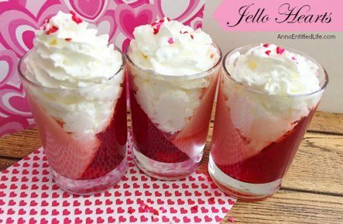 Jello Hearts Recipe