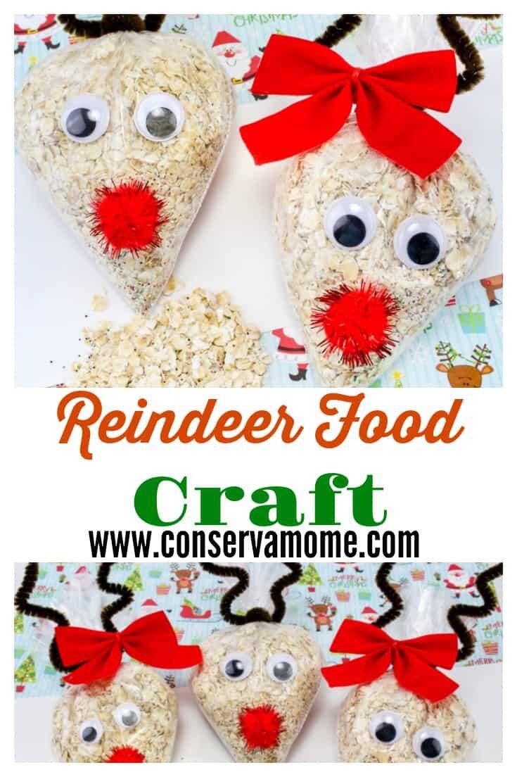 Reindeer Food Craft- A Fun Christmas Craft