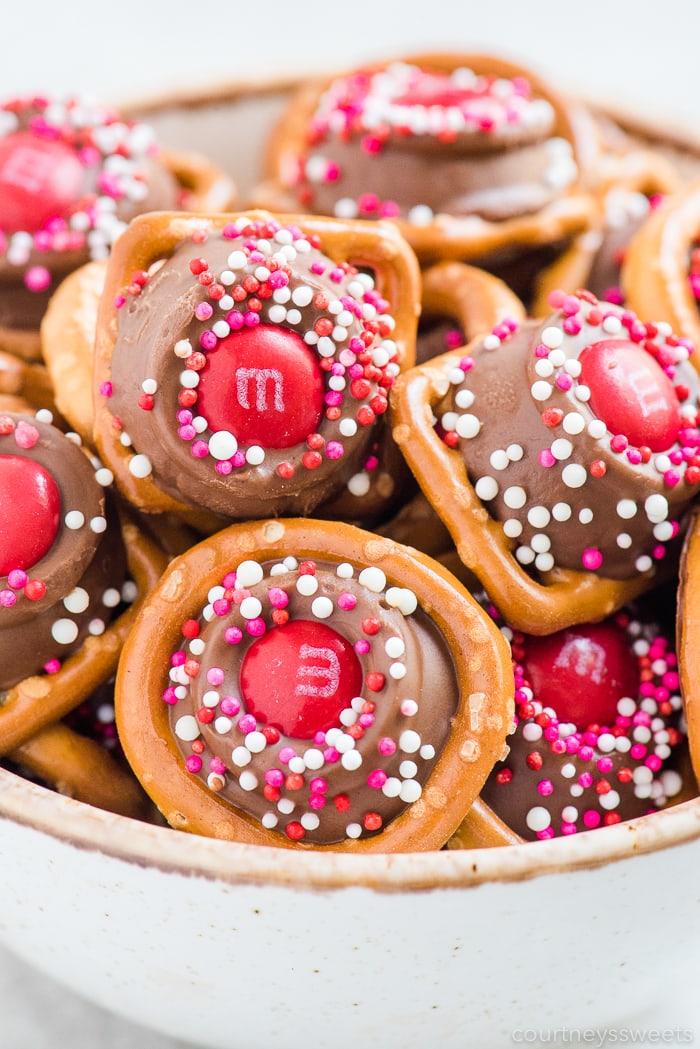 Rolo Pretzels Valentine's Day Candy