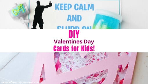 DIY Valentines Day Cards for Kids!