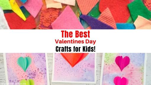 Valentine's Day Crafts for Kids!